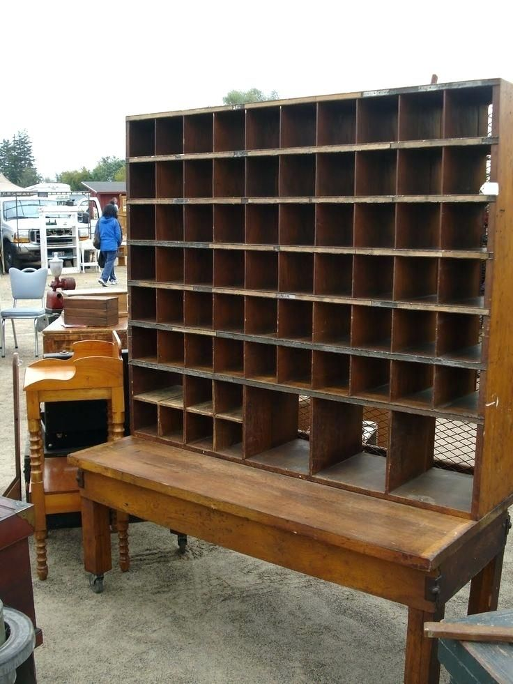 http://panterabread.co/antique-post-office-desk/ - Pin By Shannon Tucker On Assemblage Mail Sorter, Antiques, Storage