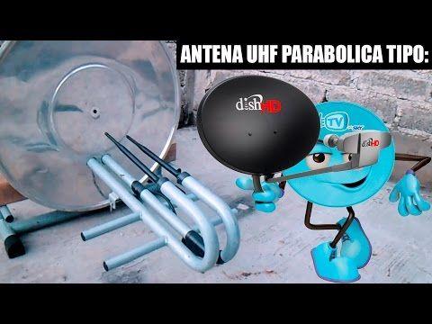 Antena Ultra Potente Parabolica UHF Calidad de Señal Full HD 2016 La mejor antena del mundo - YouTube