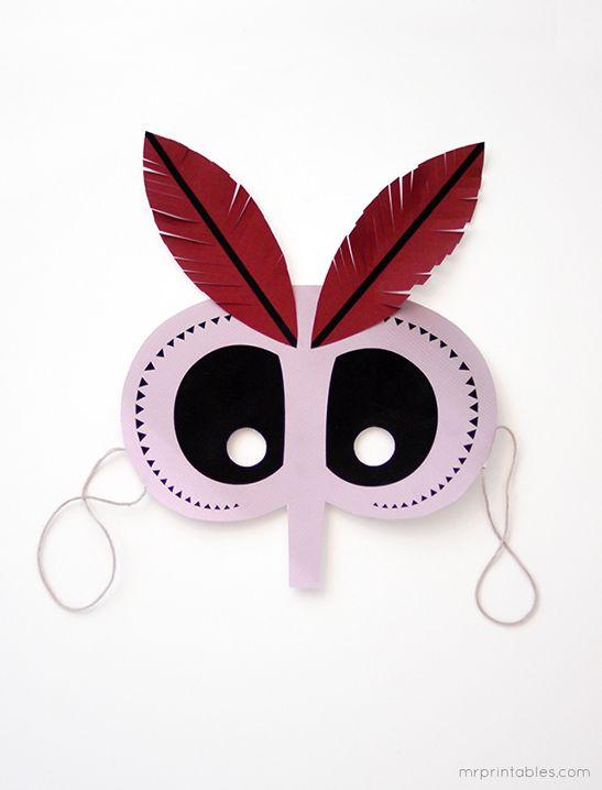 Printable Halloween Masks - Mr Printables