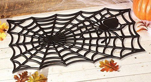 Decorating Ideas > Best 20+ Giant Spider Ideas On Pinterest  Black Spider  ~ 004814_Large Halloween Doormats