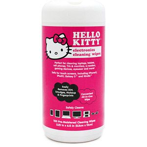 Hello Kitty Cleaning Wet Wipes, 100-Count