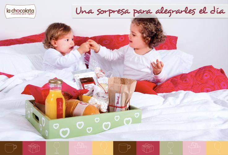 ¡Consiente a tus sobrinos a primera hora del día!  Para esos sobrinos que son como tus hijos, mímalos con nuestro espectacular desayuno mini de La Chocolata --> http://ow.ly/w7Vx9