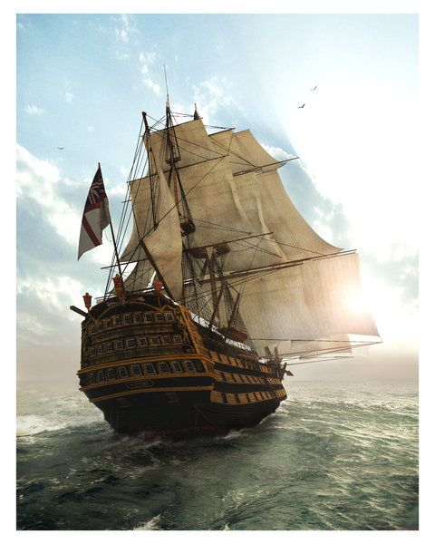 hms-surprise:  HMS Victory Dedicated to all old ship lovers