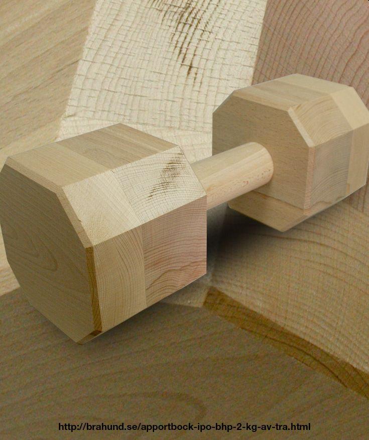 Apportbock IPO/BHP 2 kg av trä.
