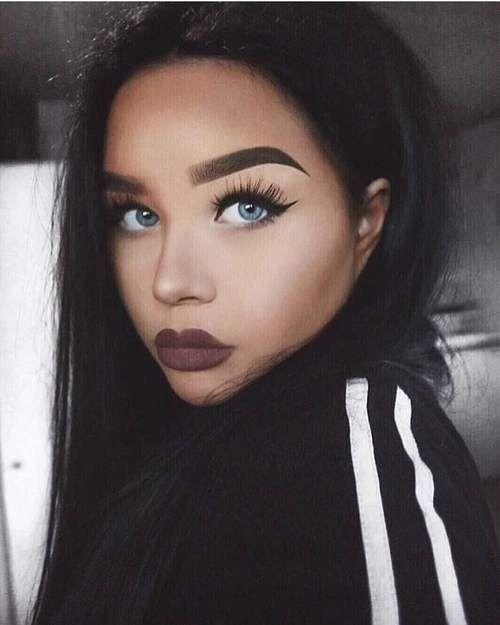 Kiss Face Makeup: Best 25+ Dark Lipstick Ideas On Pinterest