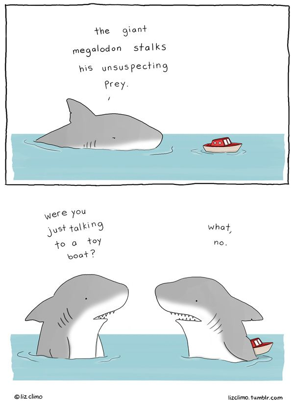 10 Wonderfully Adorable Cartoons by Liz Climo. oh my goodness they are all so cute and hilarious! I love this one!