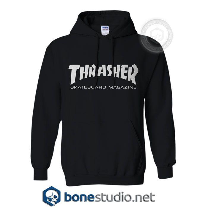 Thrasher Skateboard Magazine Hoodies – Adult Unisex Size S-3X