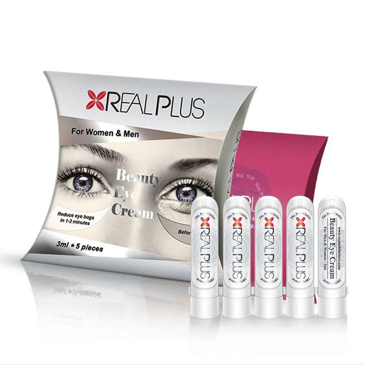 REAL PLUS Reduce eye bags in 1-2 minutes eye cream