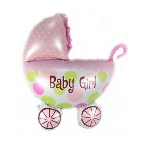 Dziś oryginalny prezent:)  Balon w Kształcie Wózka na Narodziny Dziewczynki napełniony helem.   Wspaniały prezent z okazji narodzin małej dziewczynki! Idealny na wizytę w szpitalu, pierwszą wizytę u dzidziusia lub baby shower!  Sprawdźcie co mamy dla chłopców:)  http://www.niczchin.pl/balony-z-helem-dla-dzieci-krakow/1953-balon-w-ksztalcie-wozka-narodziny-dziewczynki.html  #balony #balonyzhelem #urodziny #wozek #zabawki #niczchin #krakow