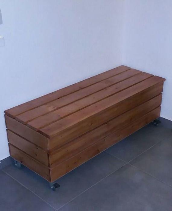 ארגז /ספסל אחסון מעץ | אגדות ונגרים | מרמלדה מרקט