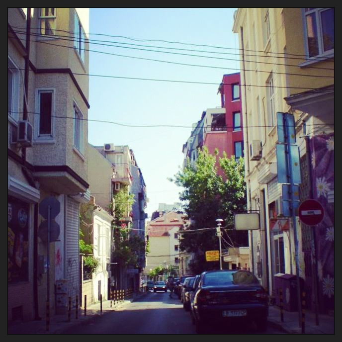 The streets of Varna