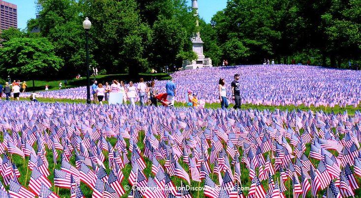 Memorial Day in Boston - 2017 Events