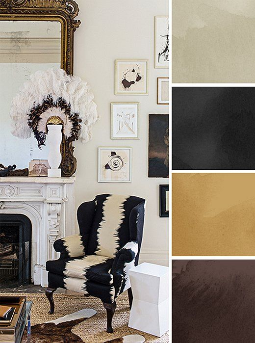 8 foolproof color palettes for every room furniture kings lane and chocolate brown - Choose color scheme every room ...