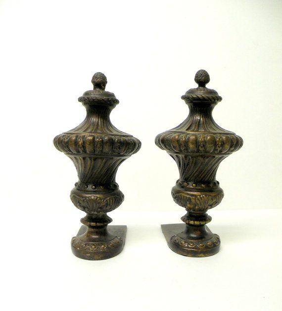 Best Vintage Bronze Brass Cast Iron Bookends Door Stoppers 400 x 300