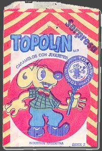Topolin, para poner en las piñatas (¿? Nada que ver, jajaja!)