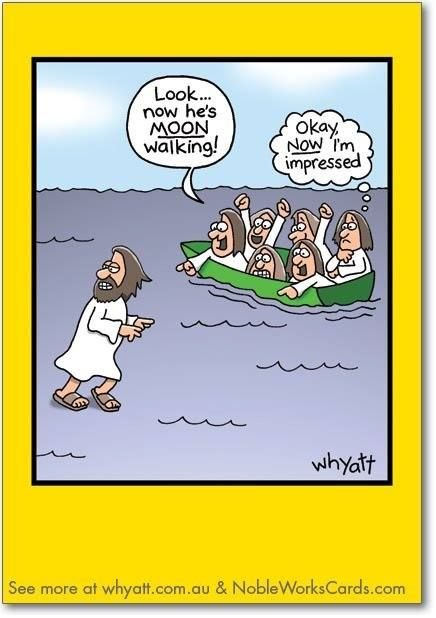 7 best christian humour images on pinterest bible humor comic and moon walking funny birthday greeting card by nobleworks bookmarktalkfo Image collections
