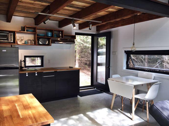 Le Repère Boréal - De spectaculaires mini-habitations dans Charlevoix - Joli Joli Design