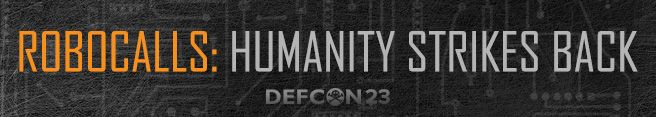 RoboCalls: Humanity Strikes Back DEF CON 23. The FTC is heading back to DEF CON, and this time we're challenging tech gurus to create a tool that people can use to block or forward unwanted robocalls automatically to a honeypot. The contest has two phases.  #civichacking #robocalls #hacking #contest  Registration due June 15, 2015. FTC https://www.ftc.gov/news-events/contests/robocalls-humanity-strikes-back Winner: $25,000 RunnersUp- $10,500, Finalists- $2,000 each #techgeek #geeklove…
