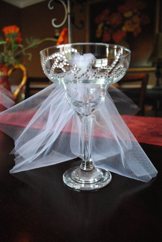 Bride Margarita Glass- Wedding