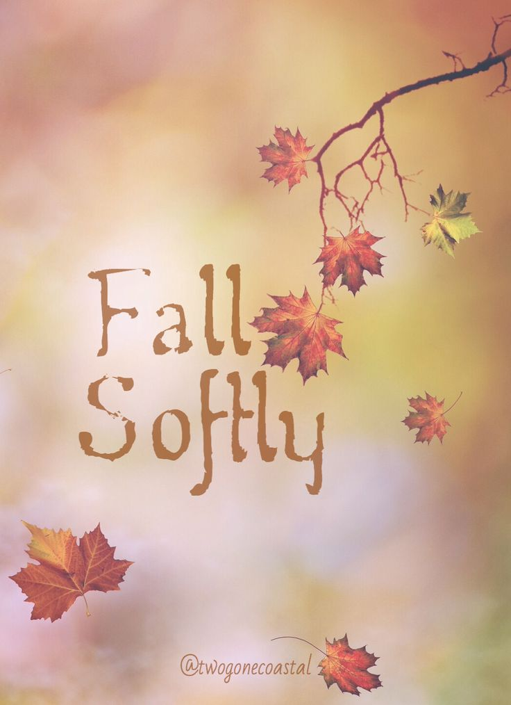 Fall Softly