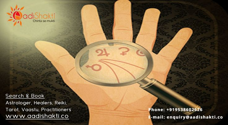 Palmistry reveals individual personality & character traits through the study of the shape, size & lines of the hands & fingers. http://www.aadishakti.co/findExperts/3/22