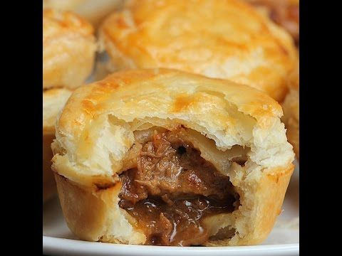Muffins Steak & Ale Tin Pies - Twisted