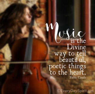 Music ~ #music #casals For the app of beautiful wallpapers ~ www.everydayspirit.net xo