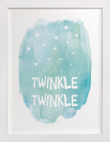 Twinkle Twinkle by Amy Hall at minted.com
