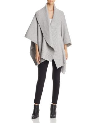 BURBERRY Ruffle Collar Knitted Poncho. #burberry #poncho