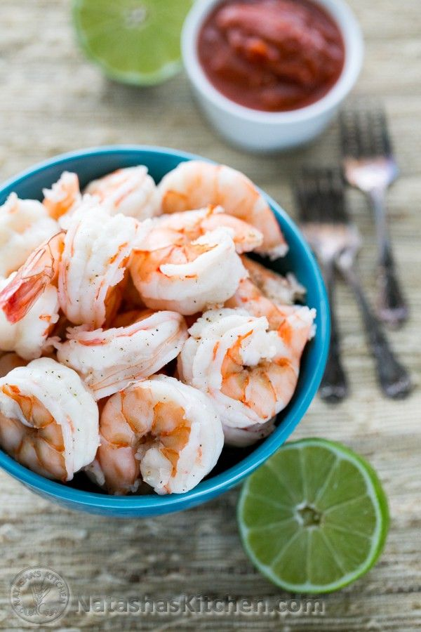 Learn how to make your own boiled shrimp at home! It takes just minutes to make and boiled shrimp can be use for any recipe that calls for cooked shrimp.
