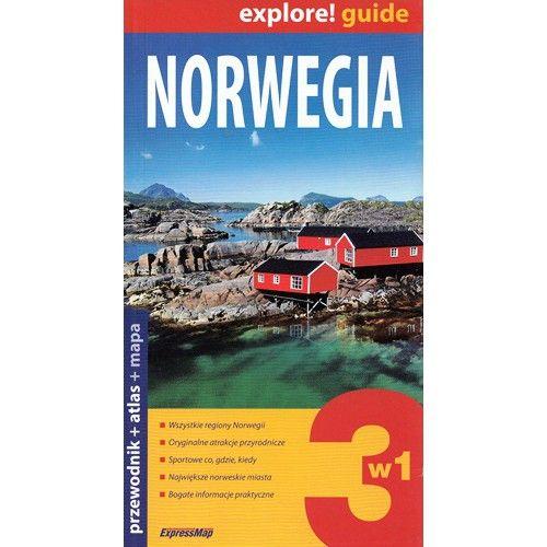 Norwegia 3w1 przewodnik ExpressMap tylko 64,90zł w ArtTravel.pl