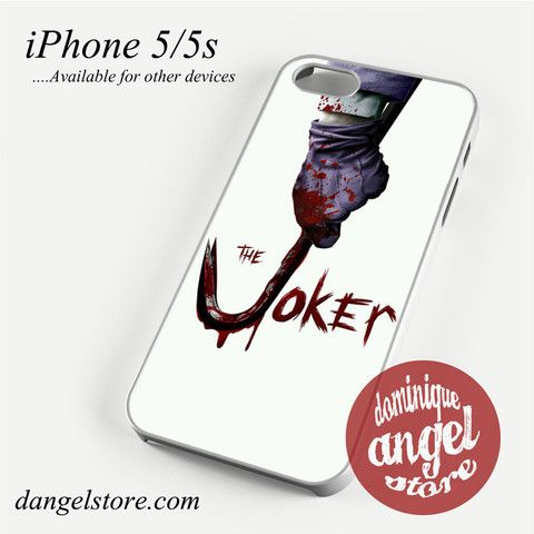 The Joker 5 Phone case for iPhone 4/4s/5/5c/5s/6/6 plus