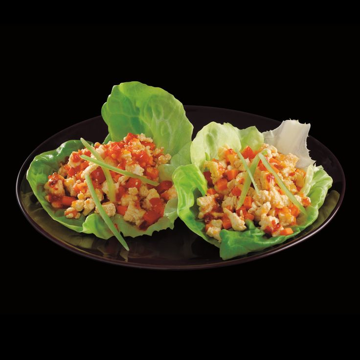 Check out these #Vegan #Lettuce #Wraps from the #P90X2 #Nutrition Guide! If you have P90X2, turn to page 96 to get the recipe! ONLY 192 CALORIES!