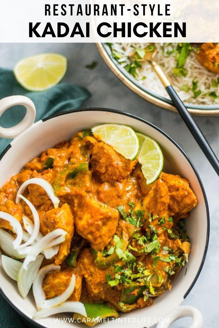 Kadai Chicken Recipe Indian Chicken Recipes Easy Indian Cooking Recipes Curry Recipes Easy