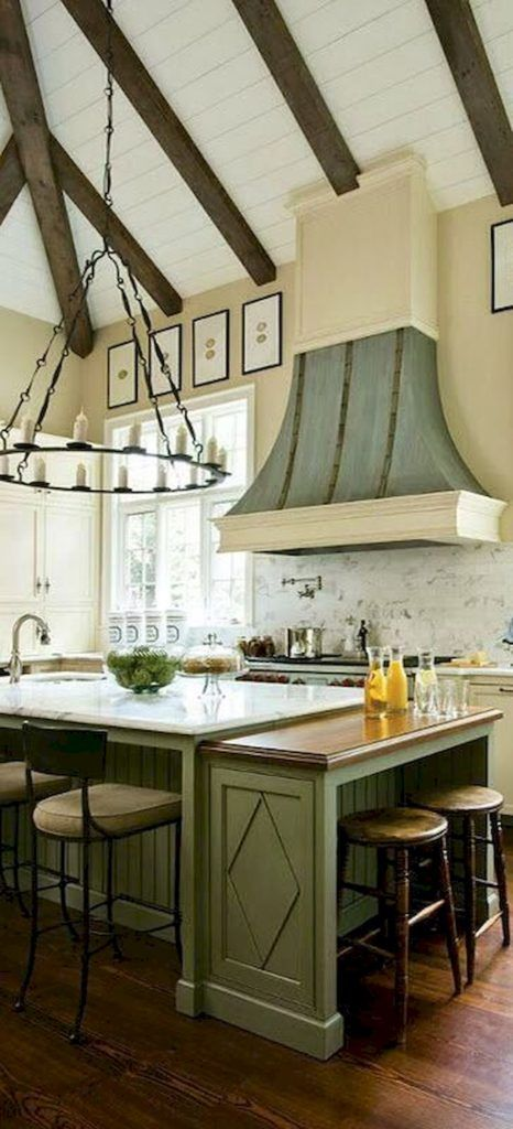 French Country Kitchen Design & Decor Ideas (44) | French country ...
