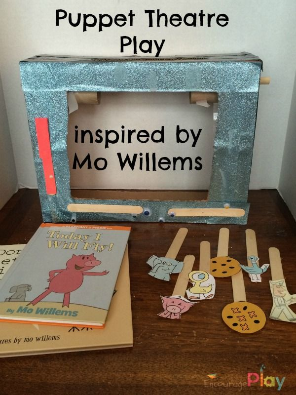 Puppet Theatre Show inspired by Mo Willems - Encourage Play