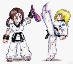 dibujos de taekwondo - Buscar con Google