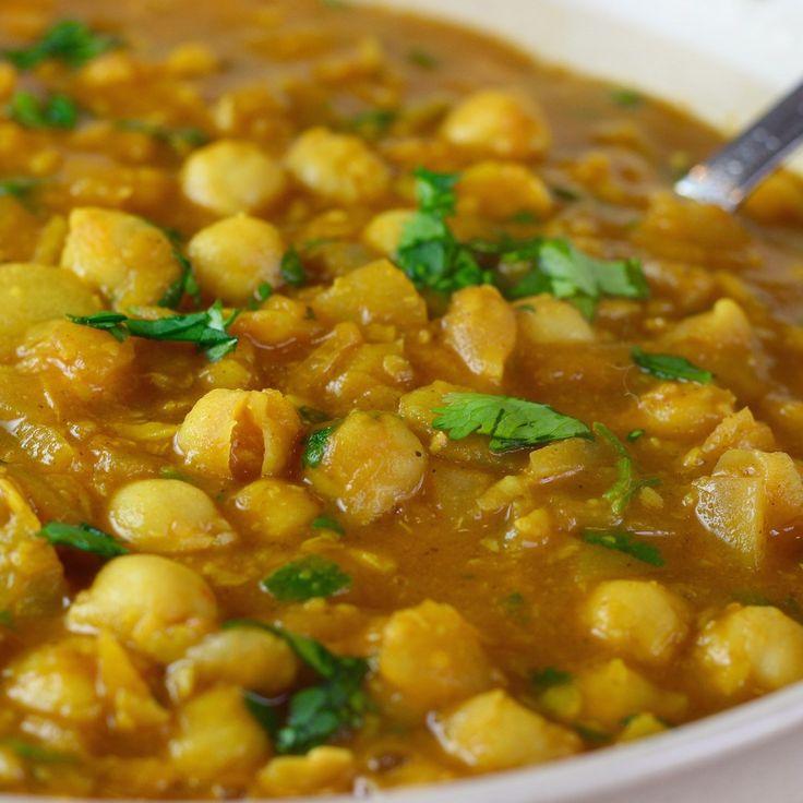 die besten 20+ chana masala ideen auf pinterest   kichererbsen