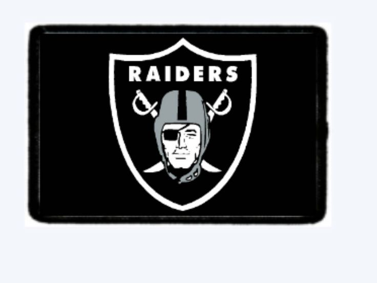 Raiders  Morale Patches. Velcro Backed. Full Color. by TayloredCustomThings on Etsy