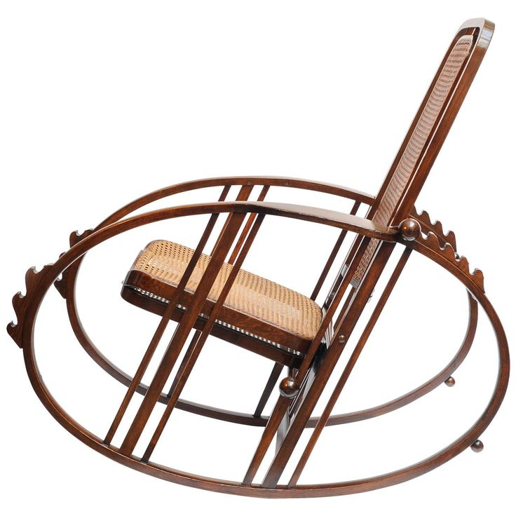 """Josef Hoffmann's """"Egg"""" Rocking Chair 