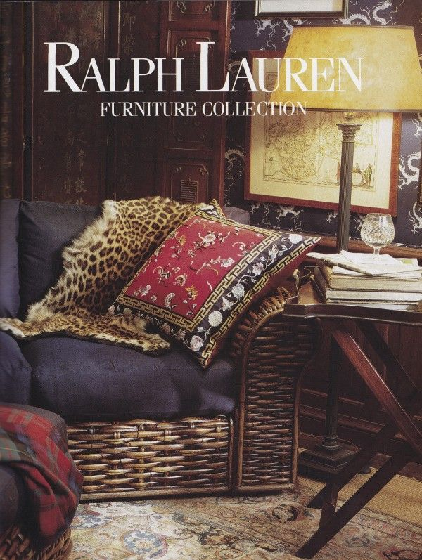 High Quality Ralph Lauren Home Archives, Unknown Collection, Wicker Chair Detail, 1989