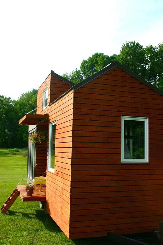Galería de casas diminutas (6) – Casas con entrada en el costado | Casa Enlatada
