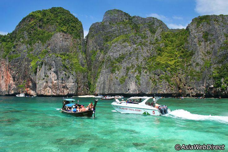 *m. Phi Phi Islands by Speedboat Daytrip Cruise from Phuket to Phi Phi Island #PhiPhi #Thailand #Speedboat.