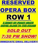 #lastminute  2 TICKETS MICHAEL CARBONARO 2/10 7:30PM FOX THEATER FOXWOODS CASINO CT OPERA BOX #deals_us