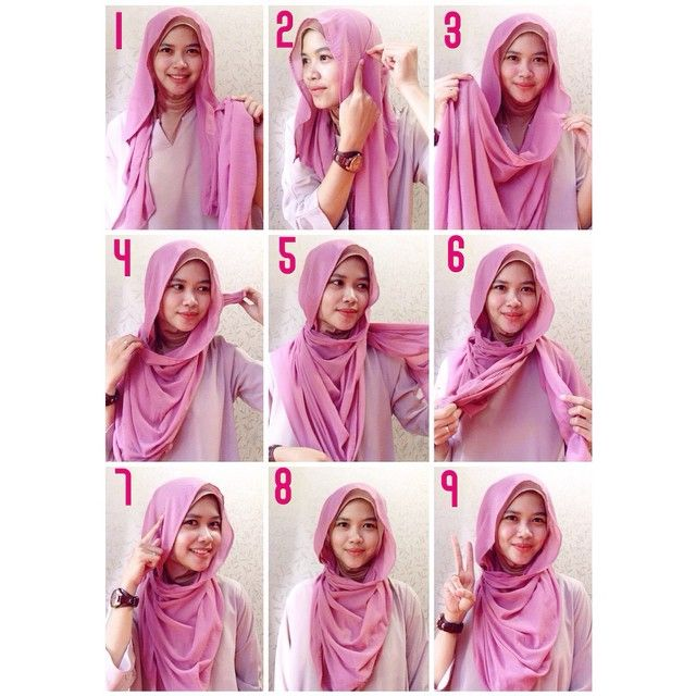 Easy and comfy hijab style that will be your favorite to rock this hot summer, it's loose and allows air, it's easily wrapped over the neck and can be created in no time! 1. Place the hijab on your head…