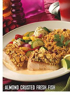 Bahama Breeze's recipe for Almond Crusted Fresh Fish... best salmon dish I have ever had!