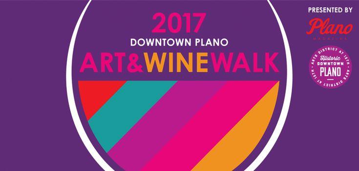 Art & Wine Walk isthe perfect way to unwind in Plano's favorite historic neighborhood.     Wine Walk Plano, Things to do in Plano, Wine Tastings in Plano, Downtown Plano, DFW Events