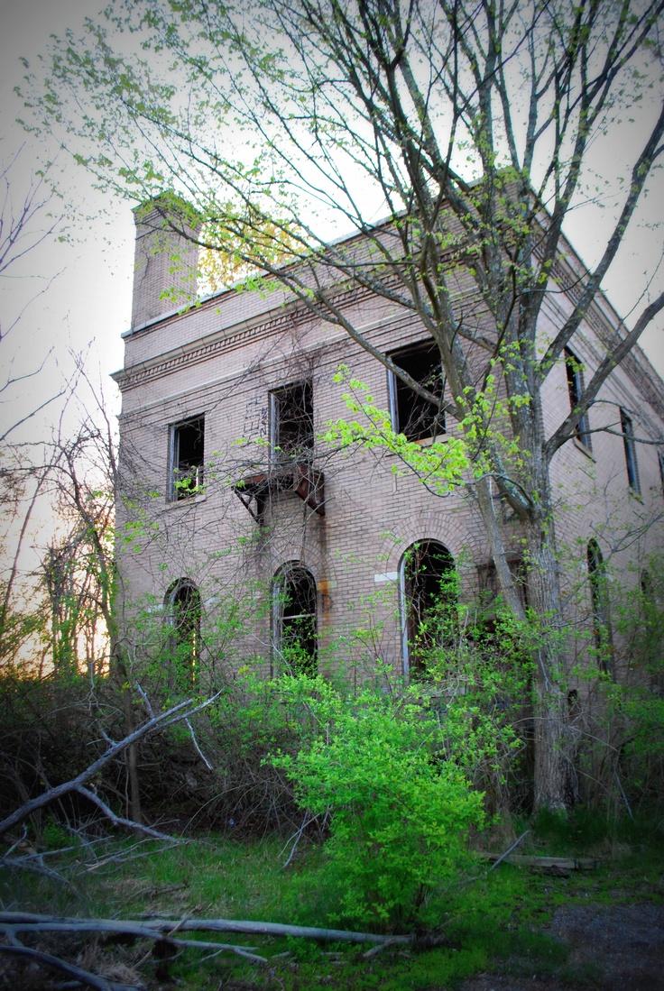 Abandoned TB hospital WV