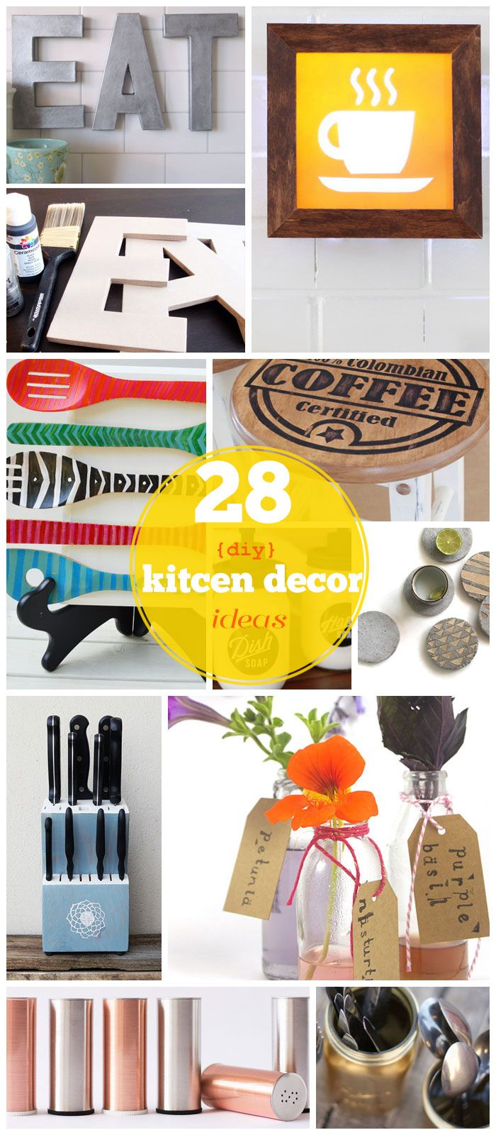 Click Pic for 28 DIY Kitchen Decorating Ideas on a Budget | DIY Home Decorating on a Budget