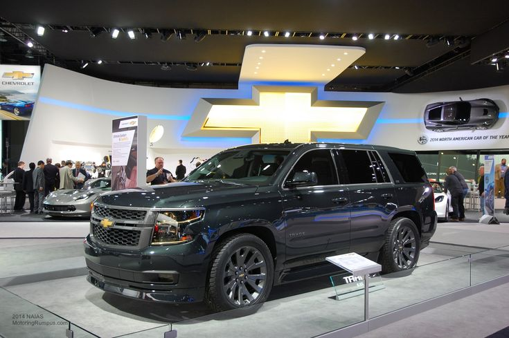 2015 Chevrolet Tahoe Black Concept HD Wallpaper - Beraplan.com